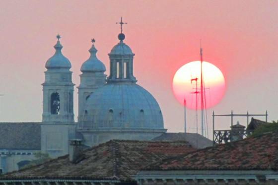 Sunset in stunning Venice