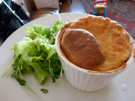 Raffles first souffle