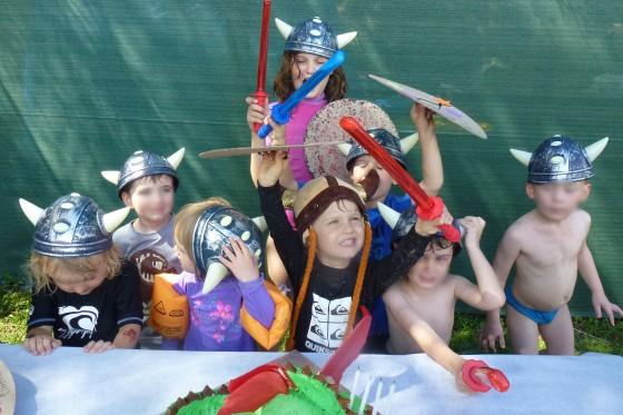 Pre-school viking hordes