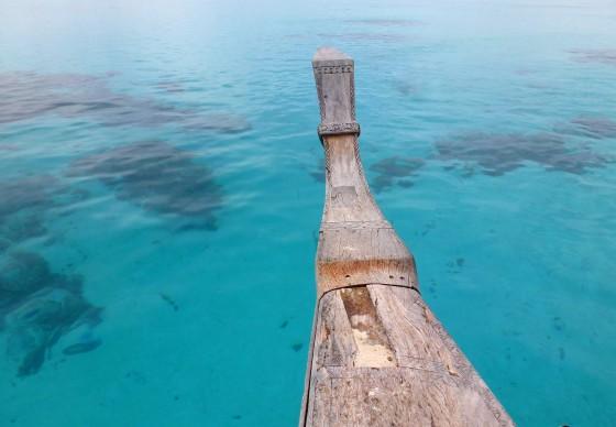 Te Vaka on Aitutaki Lagoon.