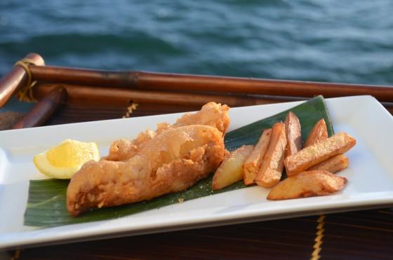 """""""Raro"""" inspired fish'n'chips"""