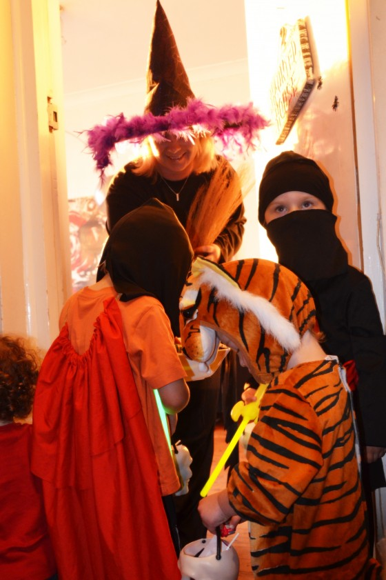 kids first trick-or-treat