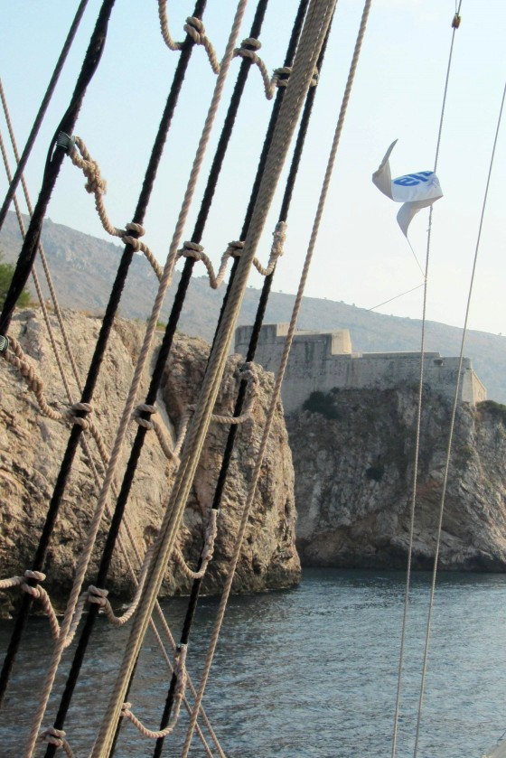 Sailing to Old Dubrovnik