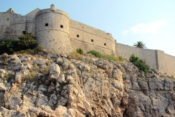 Fortified walls of Dubrovnik Old Town