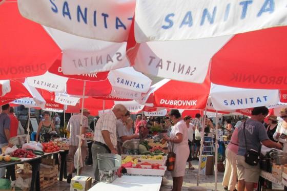 Dubrovnik Old Town market