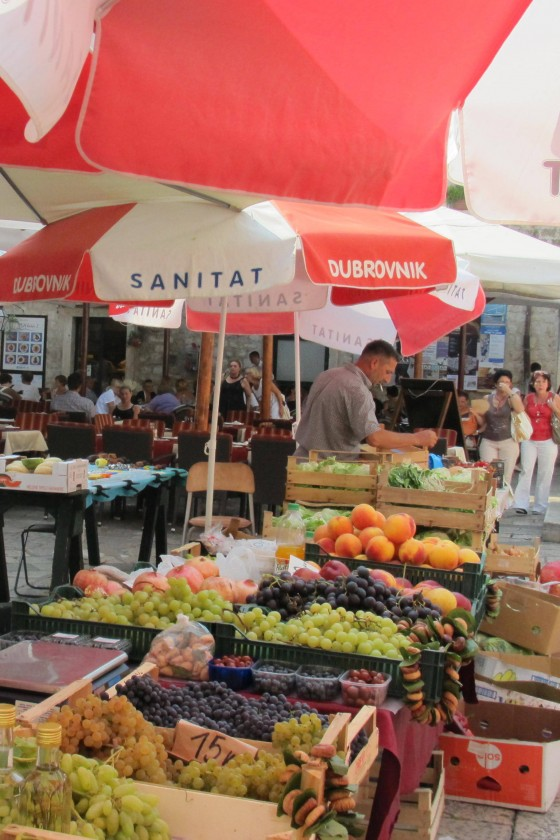 Dubrovnik Old Town Market Sta;ll