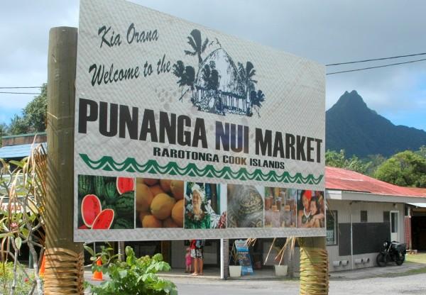 Panunga Nui Market, Rarotonga