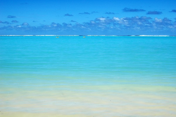 The big blue, Rarotonga