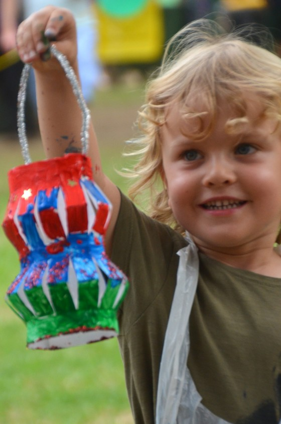 lantern fun at Belmore Park