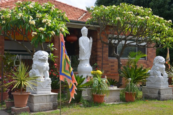 Red Brick House Temple in Cabra