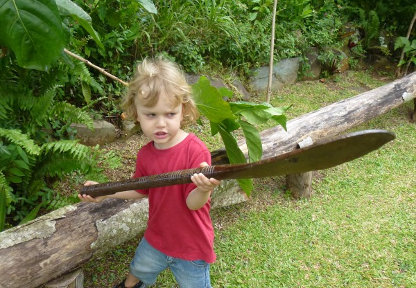 Little warrior rarotonga
