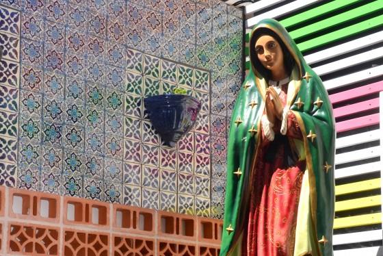Virgin Mary at El Topo