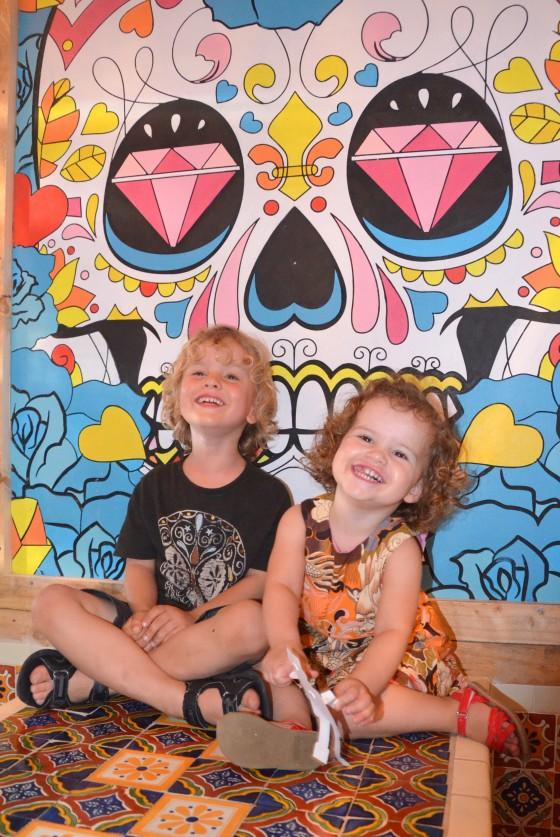 Kids at El Topo
