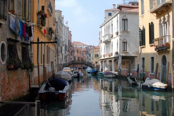 canal canaregio district venice