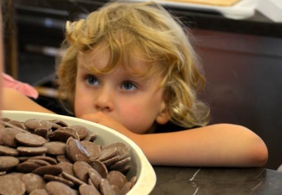 kids chocolate school