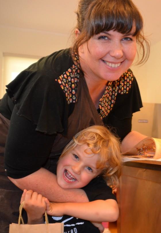 Teachers pet at Sydney chocolate school