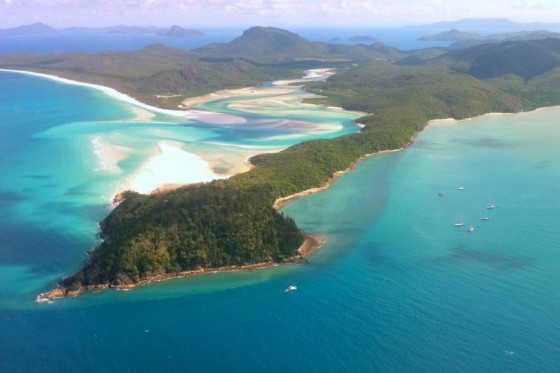 Mystical magical Whitehaven Beach