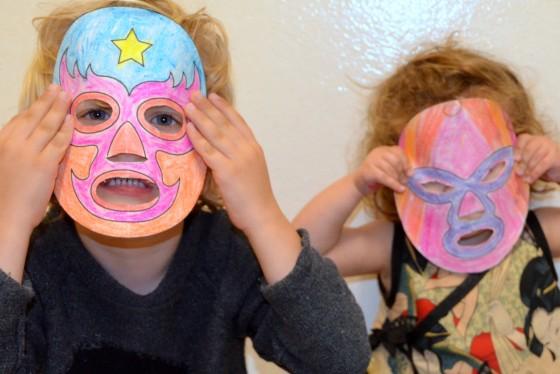 Mexican Wrestling masks kids