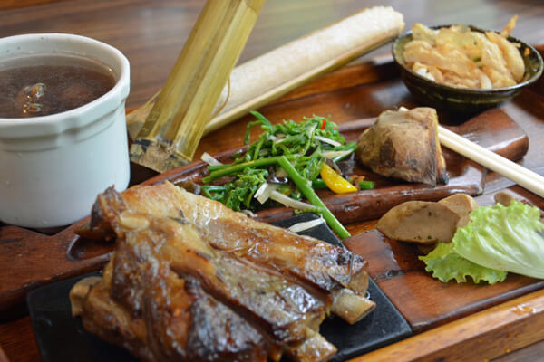 Indigenous Wild boar ribs in Taiwan