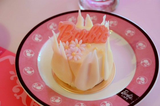 Barbie cake at the Babrie Cafe