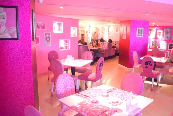 Barbie Cafe, Taipei