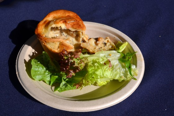 Scallope & Truffle Pie at Terrra Petra