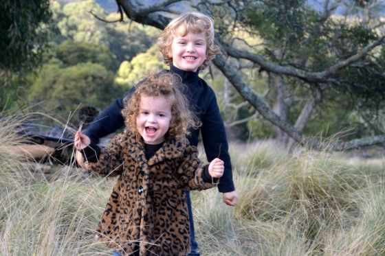 The kids at Terra Petra