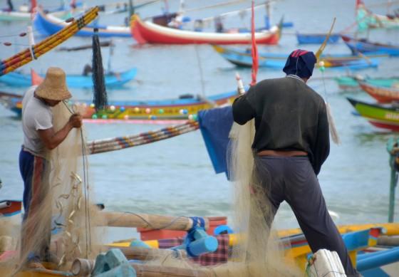 Fisherman Jimbaran Bali