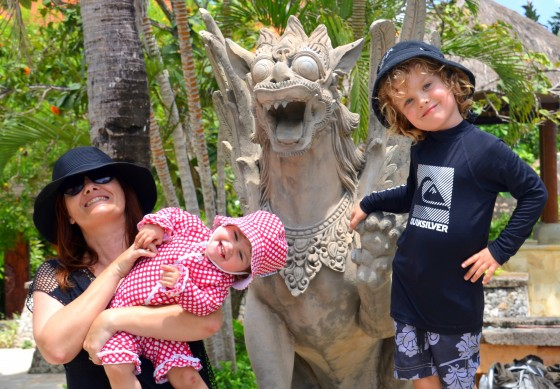 The amazing AYANA Resort and Spa with kids!