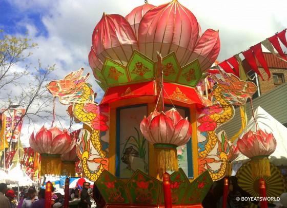 Lotus at the Moon Festival Cabramatta