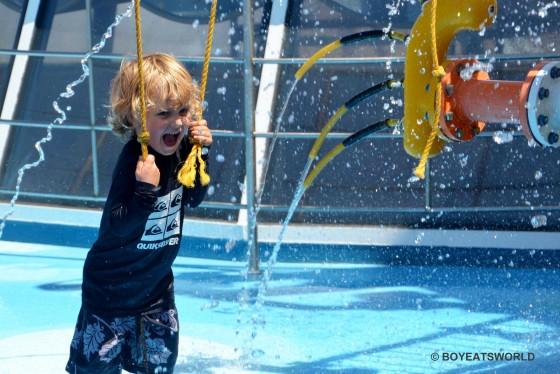Raffles hits Carnival Spirit's SplashWorks
