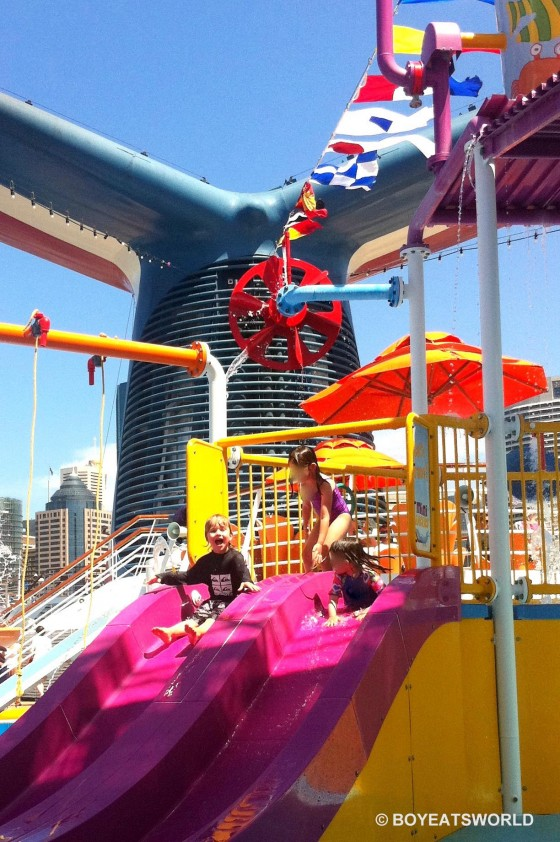 Fun for little ones on Carnival Spirit