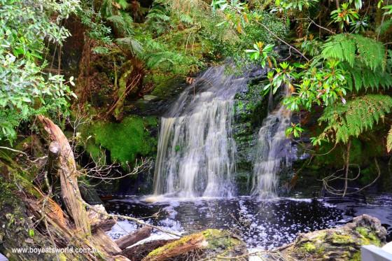 Lovers Falls, The Pieman River, Corinna