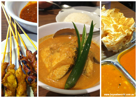 all our faves at Mamak Chatswood