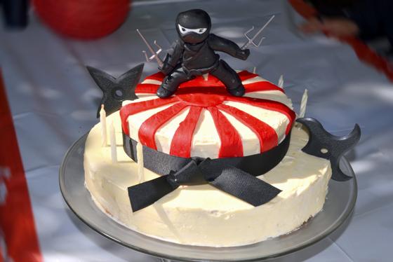 Raffles NInja Cake