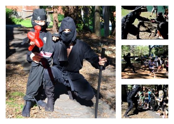 Raffles ninja party