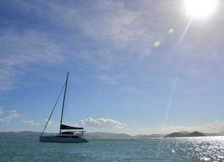 Whistundays by yacht