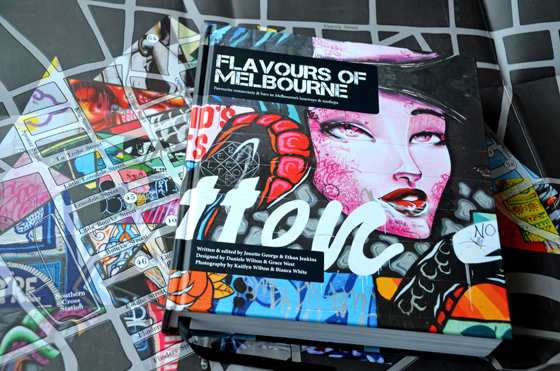Flavours of Melbourne from Smudge Publishing RRP AU$69.95