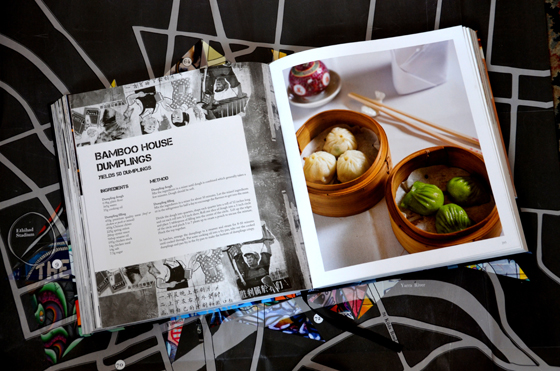 Recipe pages from Flavours of Melbourne