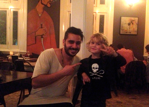 Henri & Raffles at Embers Mezze Bar