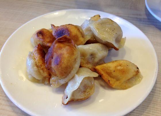 pan fried pork dumplings at CBD Dumpling House, Canberra Related Read ...