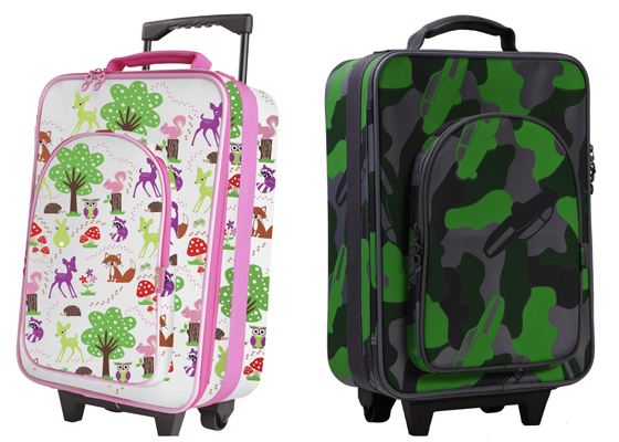 gooie trolley bags in woodland and car-mo
