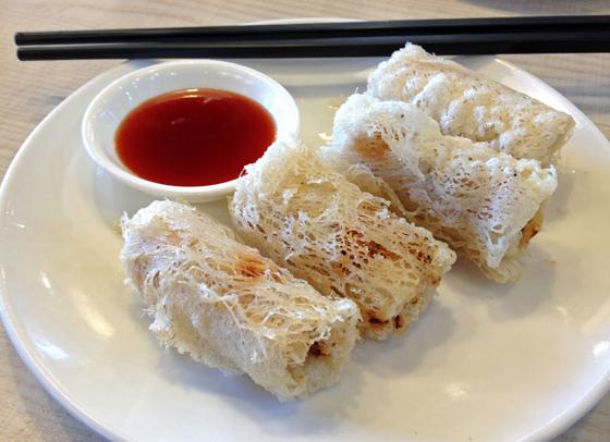Canberra eats! CBD Dumpling House Spring Rolls
