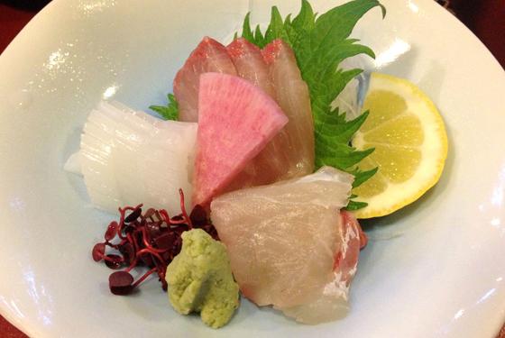 Mixed sashimi plate , Tokyo