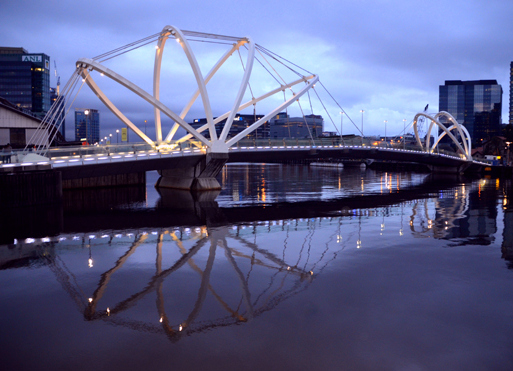 Seafarers Bridge, South Wharf, Melbourne