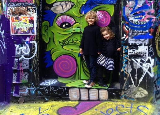 My street art sweethearts in Hosier Lane