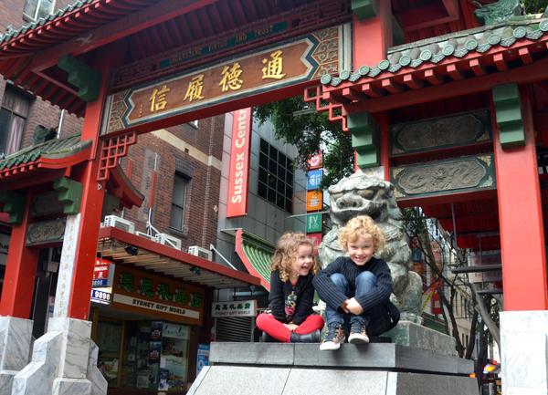 kid sin Chinatown , Sydney