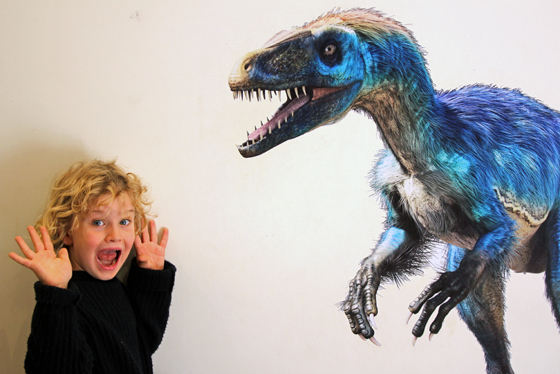 Tyrannosaurs at Th