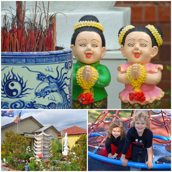 House Temples and playgrounds in Cabramatta