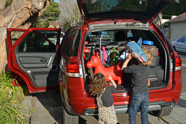 packing the territory titanium for a family roadtrip